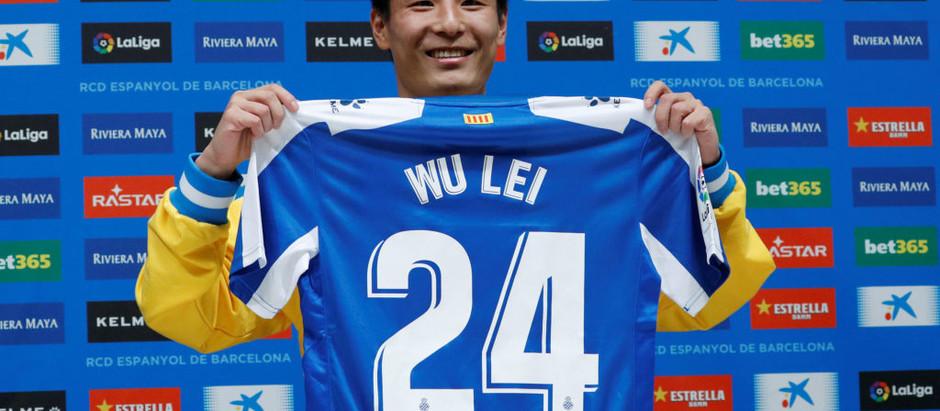 Wu Lei Transfer to LaLiga's Espanyol Delivers Immediate Impact Online