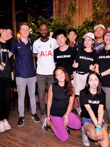 Fan event with Ledley King