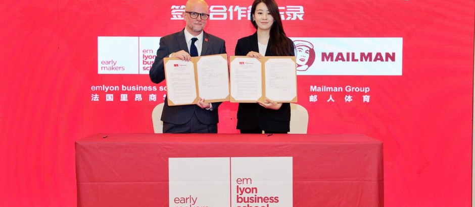 EMLYON BUSINESS SCHOOL ASIA AND MAILMAN SIGN MEMORANDUM OF UNDERSTANDING