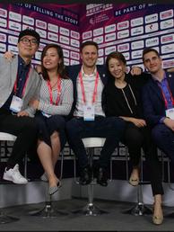 Mailman Team at Soccerex China