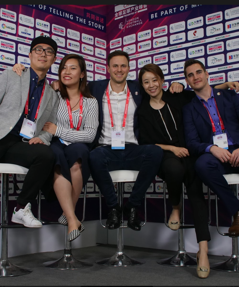 Mailman Team at Soccerex China