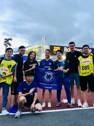 Mailman Team in Japan for Chelsea tour
