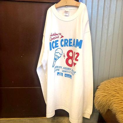 ICE CREAM long sleeve Tee  アイスクリーム ロングTシャツ