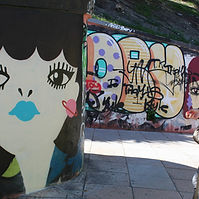 street art urban art graffiti tour italy cagliari sardinia excursions trip holiday arte di strada
