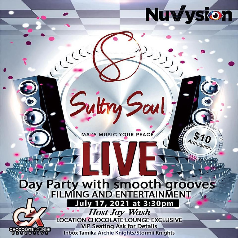 Sultry Soul Live Day Party Concert