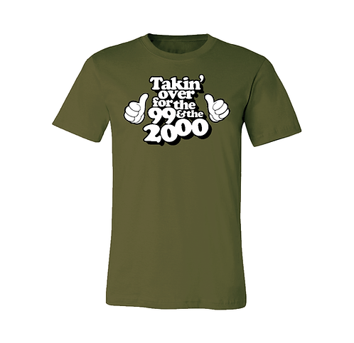 FOR THE '99 & THE 2000 - MILITARY GREEN: 2XL