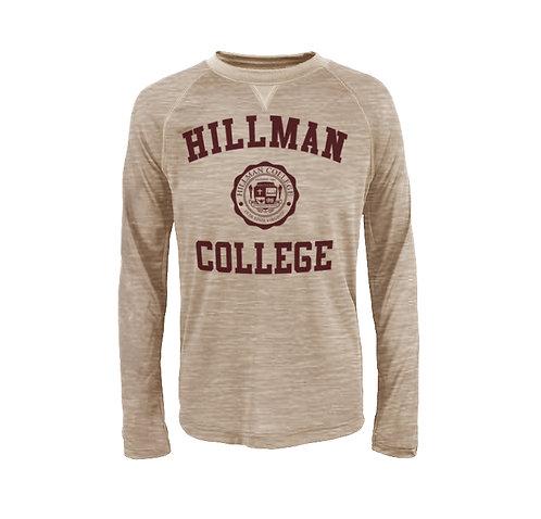 Hillman Dada Sand L/S Athletic T-Shirt - MEDIUM