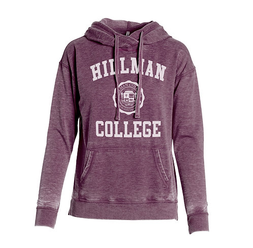 Ladies Vintage Hillman Pullover Hoodie - LADIES SMALL