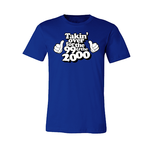 FOR THE '99 & THE 2000 - ROYAL BLUE: 3XL