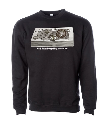 BANK OF ZAMUNDA - BLACK - SWEATSHIRT: MEDIUM
