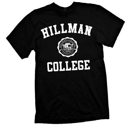 Black + White Hillman Tee: 4XL