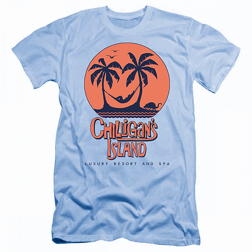 CHILLIGAN'S ISLAND LUXURY RESORT & SPA - CAROLINA BLUE: LARGE