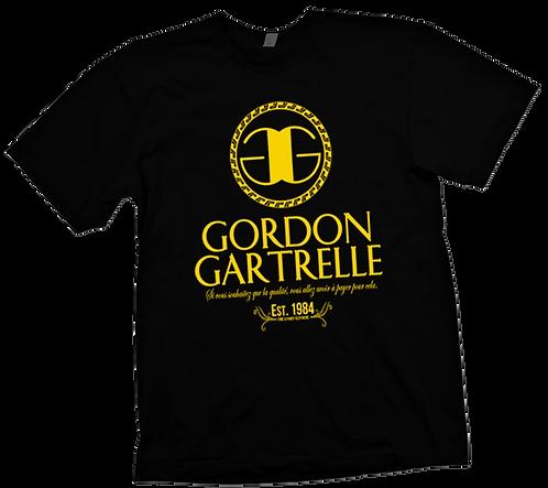 Black + Gold GG T-Shirt - SMALL