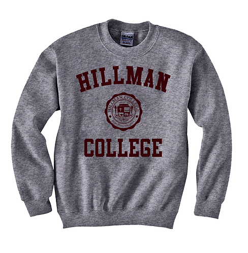 Heather Gray Hillman Sweatshirt - LARGE