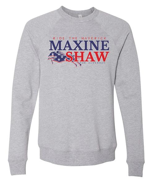 HEATHER GRAY - MAXINE SHAW SWEATSHIRT - EXTRA LARGE