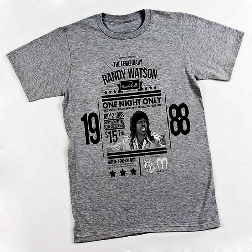 RANDY WATSON HEATHER GRAY 2XL