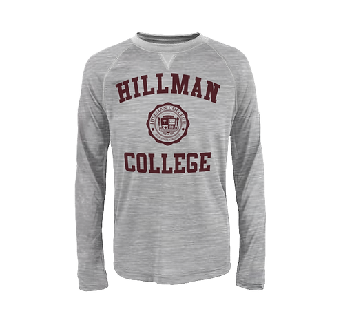 Hillman Dada Gray L/S Athletic T-Shirt - SMALL