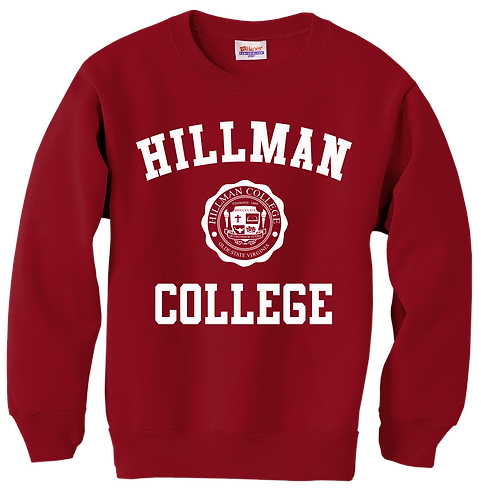 Hillman Cardinal Sweatshirt - XS