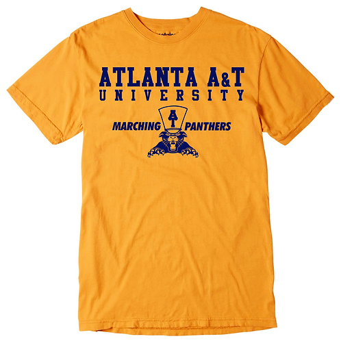 Honey Gold + Navy Atlanta A&T T-Shirt: 3XL