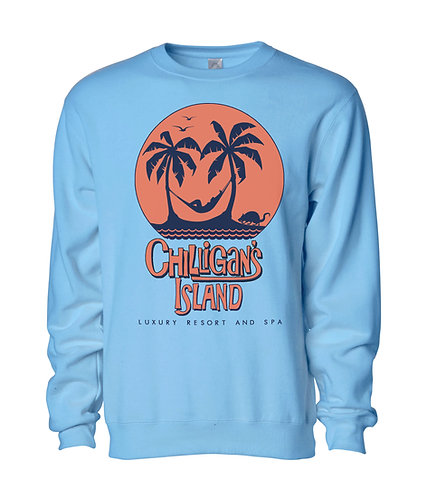 CHILLIGAN'S ISLAND SWEATSHIRT - CAROLINA BLUE: 3XL