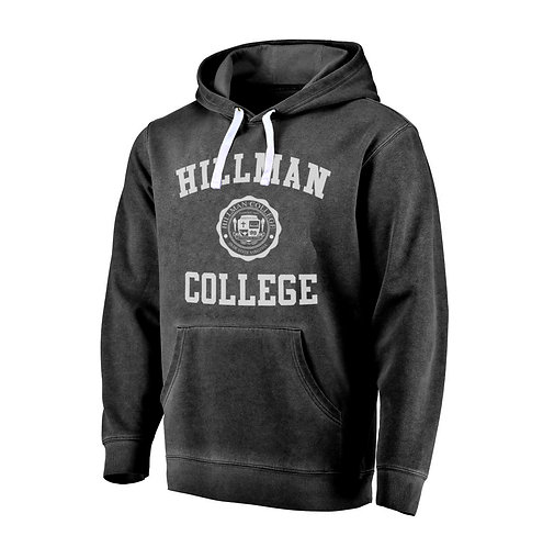 *Rustic Retro* Black Hillman Hoodie - MEDIUM