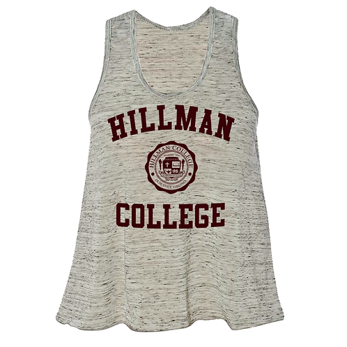 Hillman Ladies Linen Loose Fitting Name Brand Tank Top - LARGE