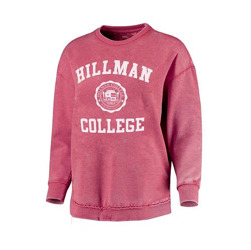 *Rustic Retro* Hillman Crimson Sweatshirt - LARGE