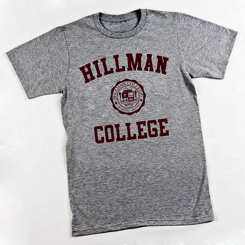 Heather Gray Hillman Tee - LARGE