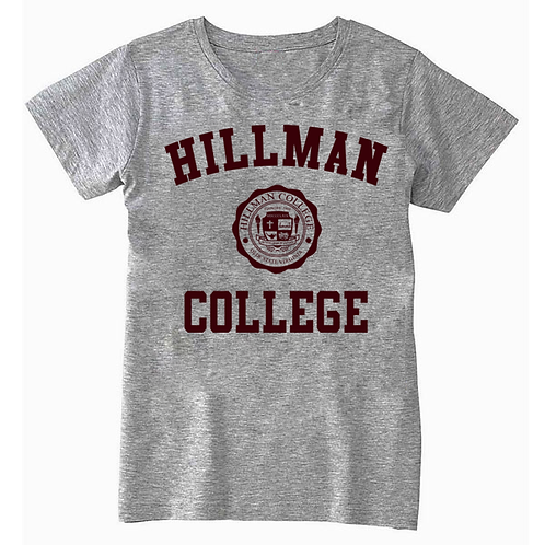 He. Gray Hillman Ladies (MISSY FIT) T: LARGE