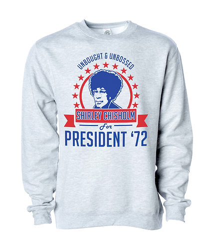 ASH - SHIRLEY CHISHOLM SWEATSHIRT - EXTRA LARGE