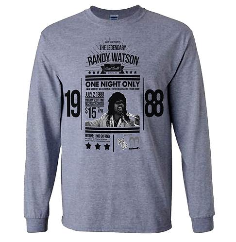 RANDY WATSON GRAY L/S T-SHIRT - XXL