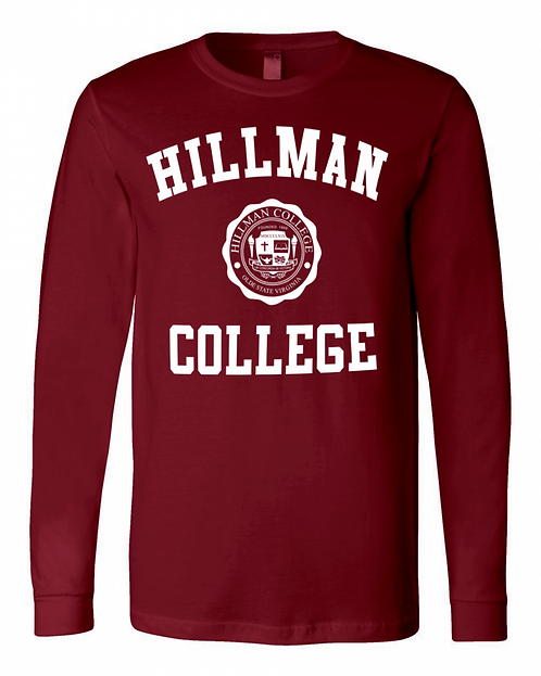 Hillman Cardinal L/S T-Shirt - EXTRA SMALL