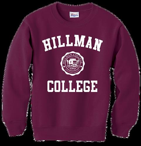 Hillman Maroon Sweatshirt - SMALL