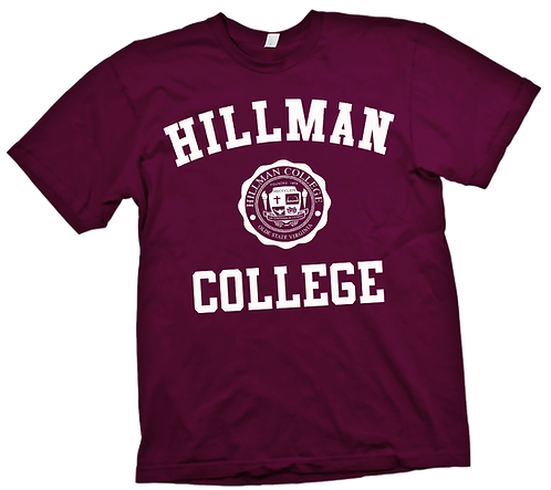 Maroon Hillman Tee MEDIUM