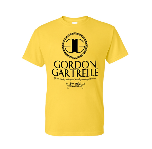 Gold + Black GG T-Shirt - 2XL