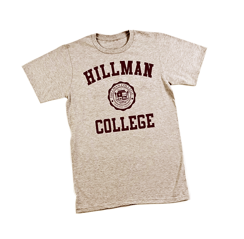 Heather Natural Hillman Tee - XL