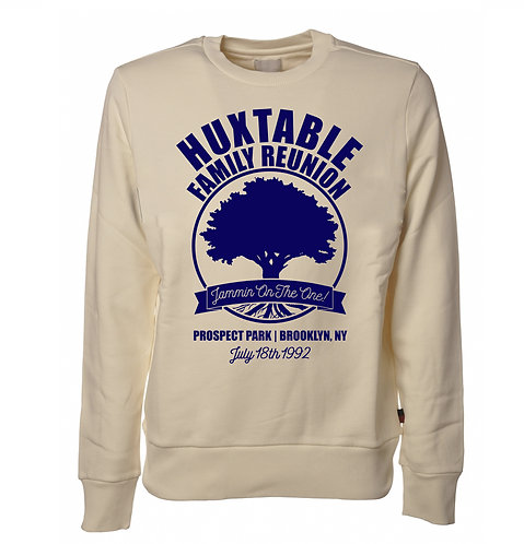 Huxtable Family Reunion | Cream & Navy Sweatshirt - 2XL