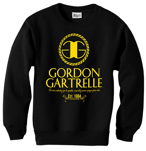 GG: BLACK + GOLD: 3XL