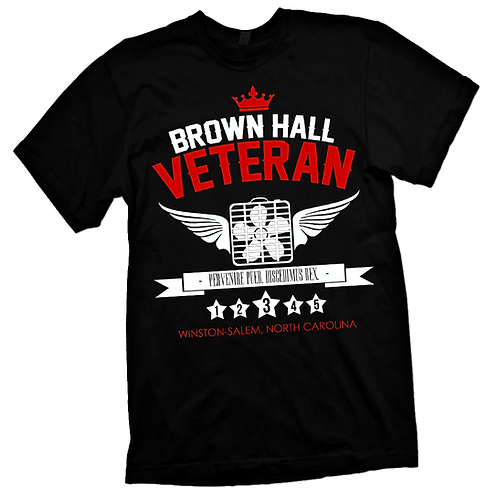 BLACK - BROWN HALL VETERAN - S