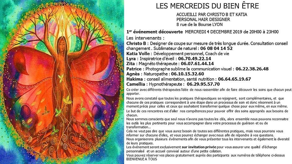 PRESENTATION DES MERCREDI DU BIEN ETRE 4