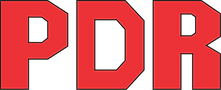 Logo PDR PRO, marca de Ferramentas Pneumáticas para uso Prossional.