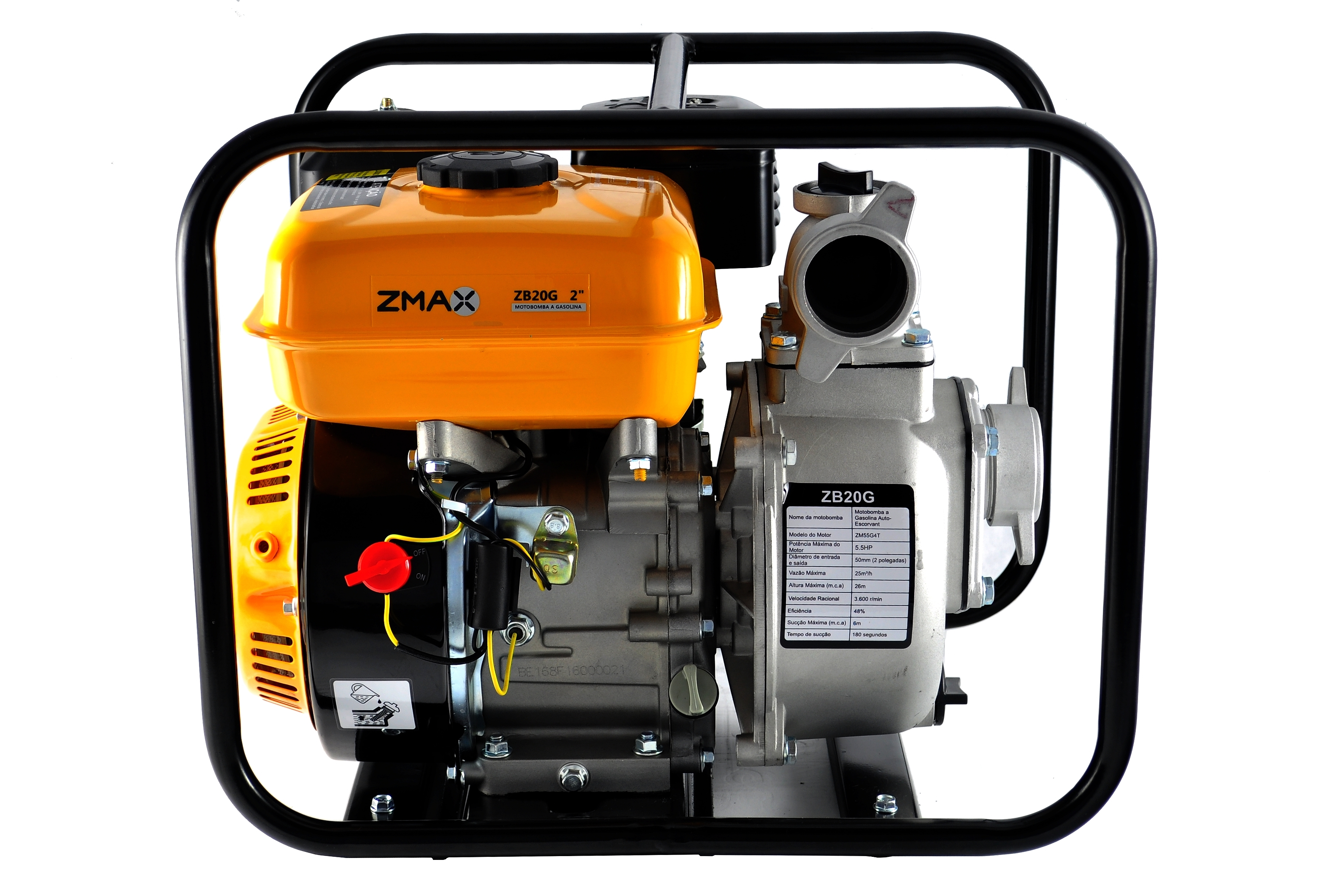 Motobomba a Gasolina - ZB20G