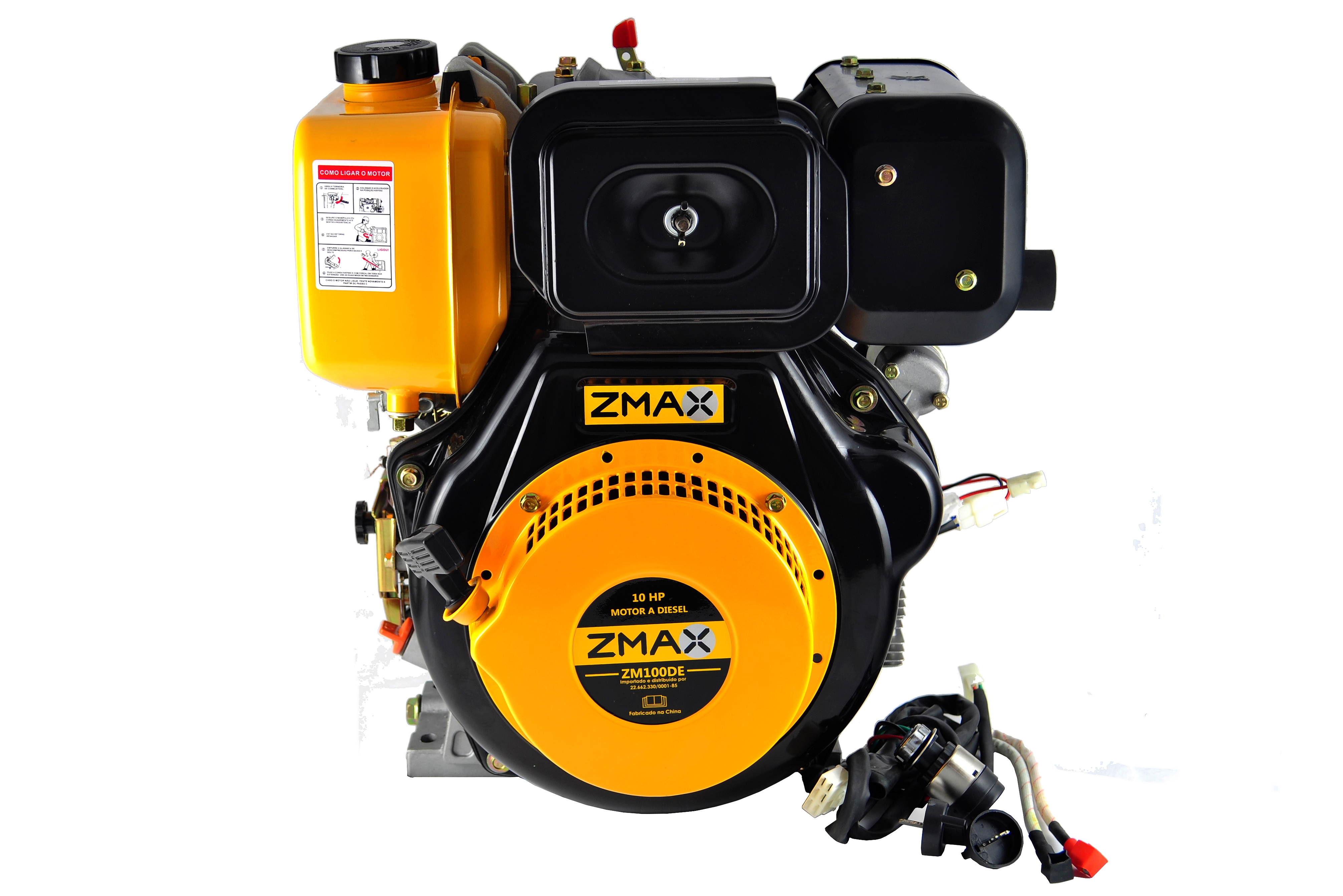 Motor a Gasolina - ZM100DE