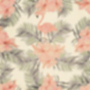Motif Flamingo