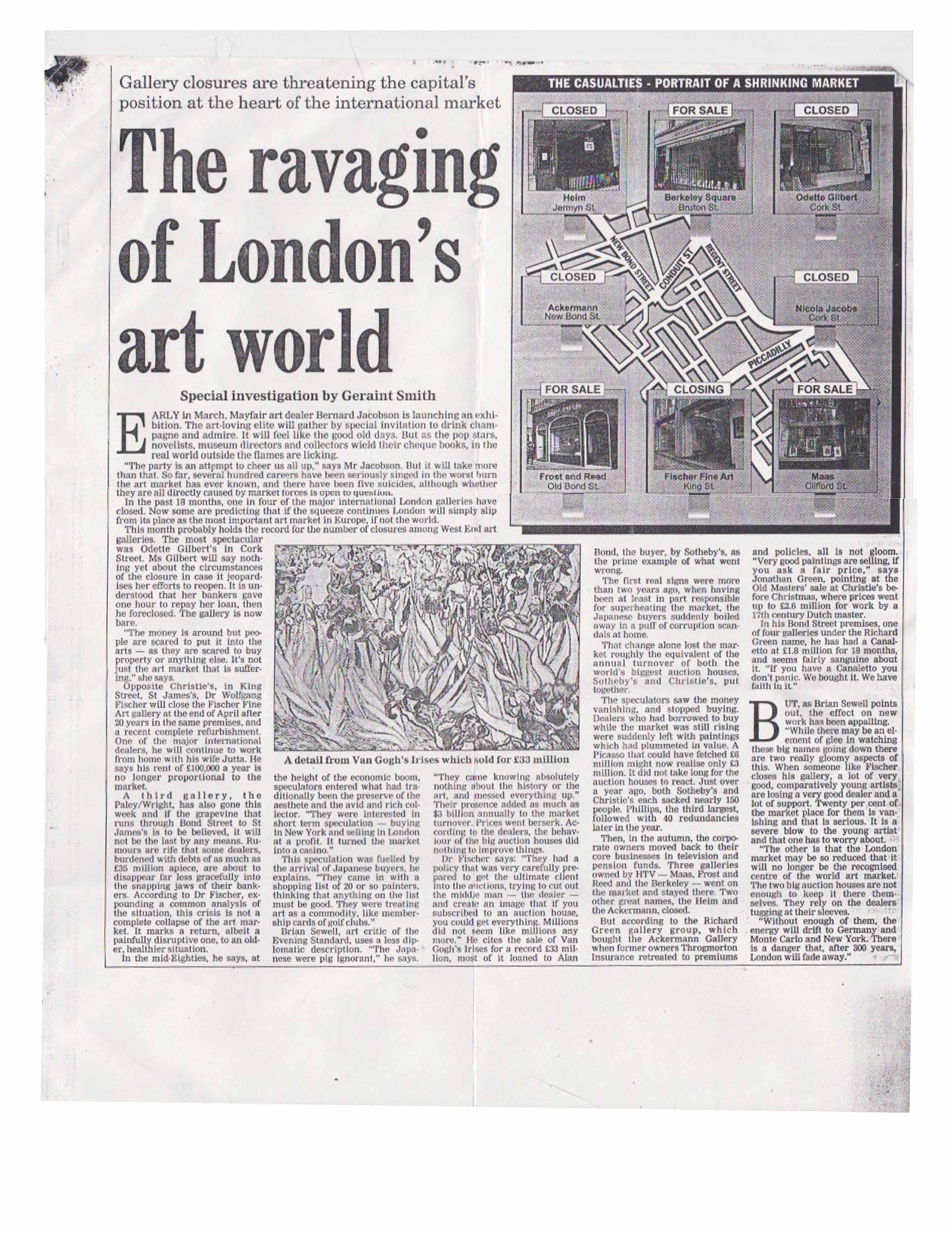 12 Ravaging of London Art World Geraint Smith b