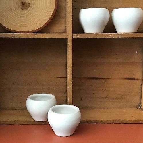 Set of 4  - Vintage Hall Pots