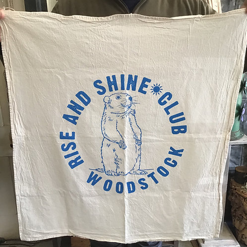 Rise and Shine Club Woodstock Towel