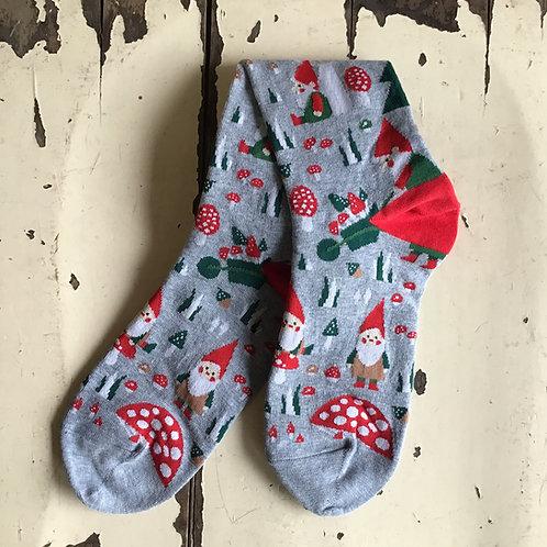 Women's Woodland Gnome Socks