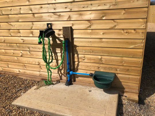 Hose pipe & water
