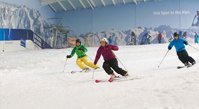 Indoor Skiing